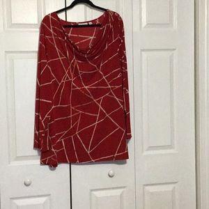 Susan Graver Knit Top 3XL